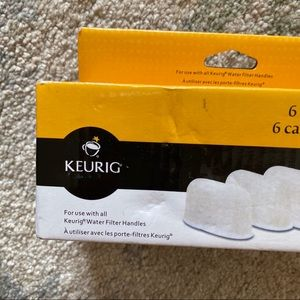 Keurig Kitchen - NEW 6 pack keurig filters